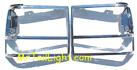 91-94 Ford Explorer Head Light Door Kit 2Pc