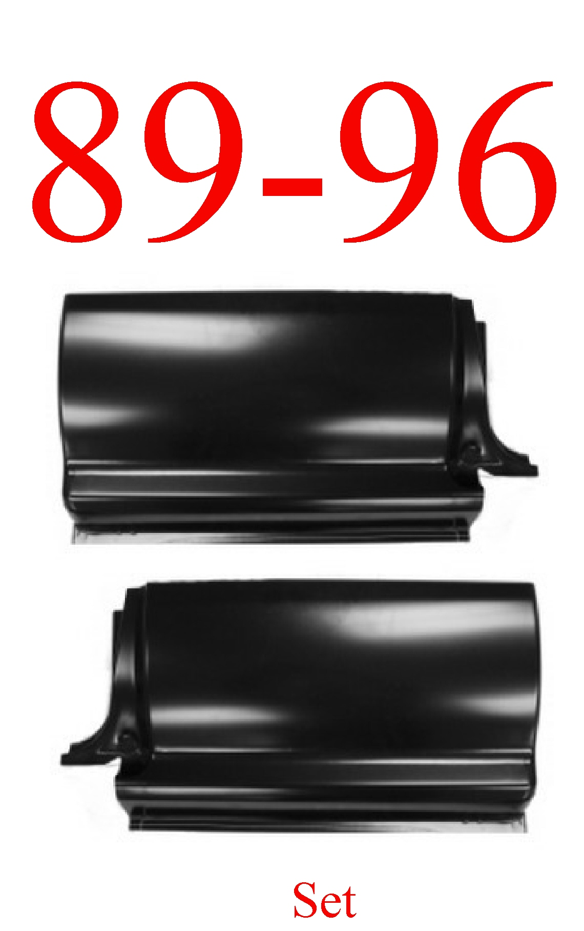 89-96 Toyota Pick Up Extended Cab Corner Set