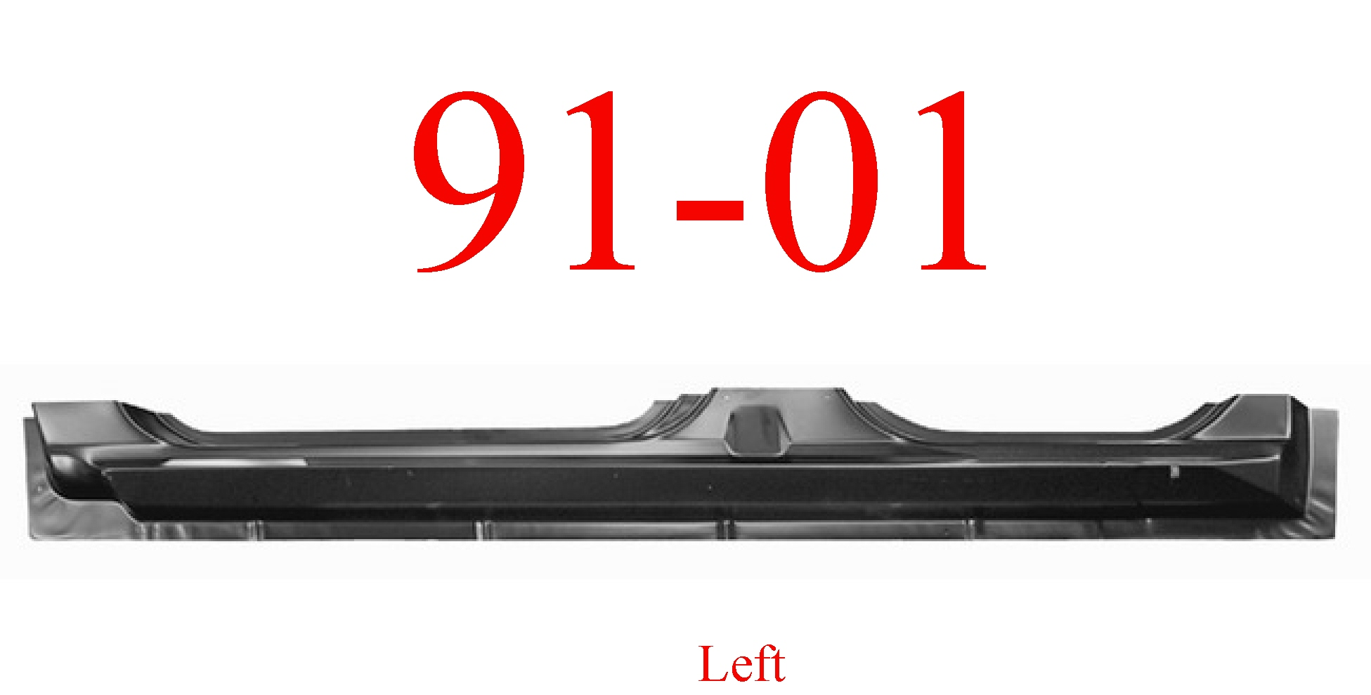 91-01 Ford Explorer Left Extended Rocker Panel 4 Door