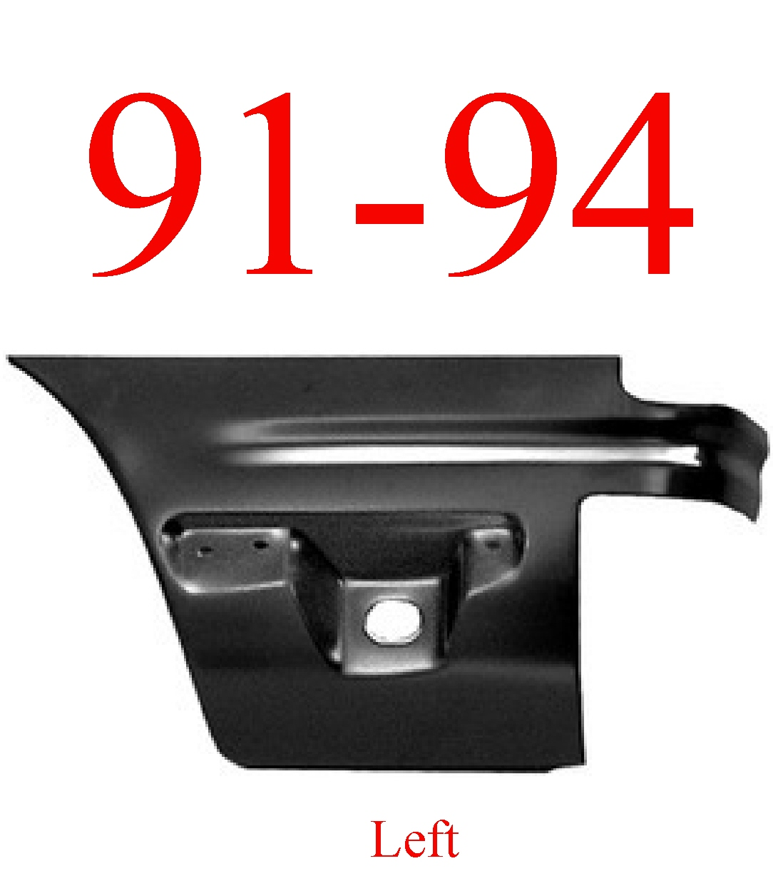 91-94 Ford Explorer Left Lower Rear Quarter Panel