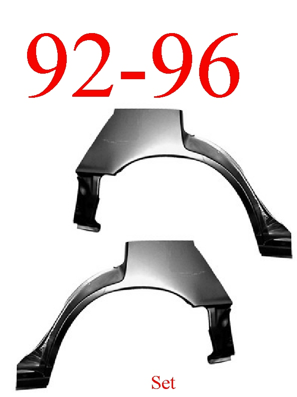 92-96 Toyota Camry Sedan & Station Wagon Wheel Arch Set