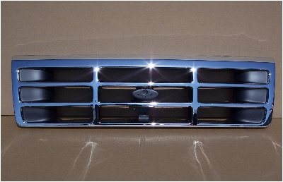 92-96 Ford Truck & Bronco Chrome Grill