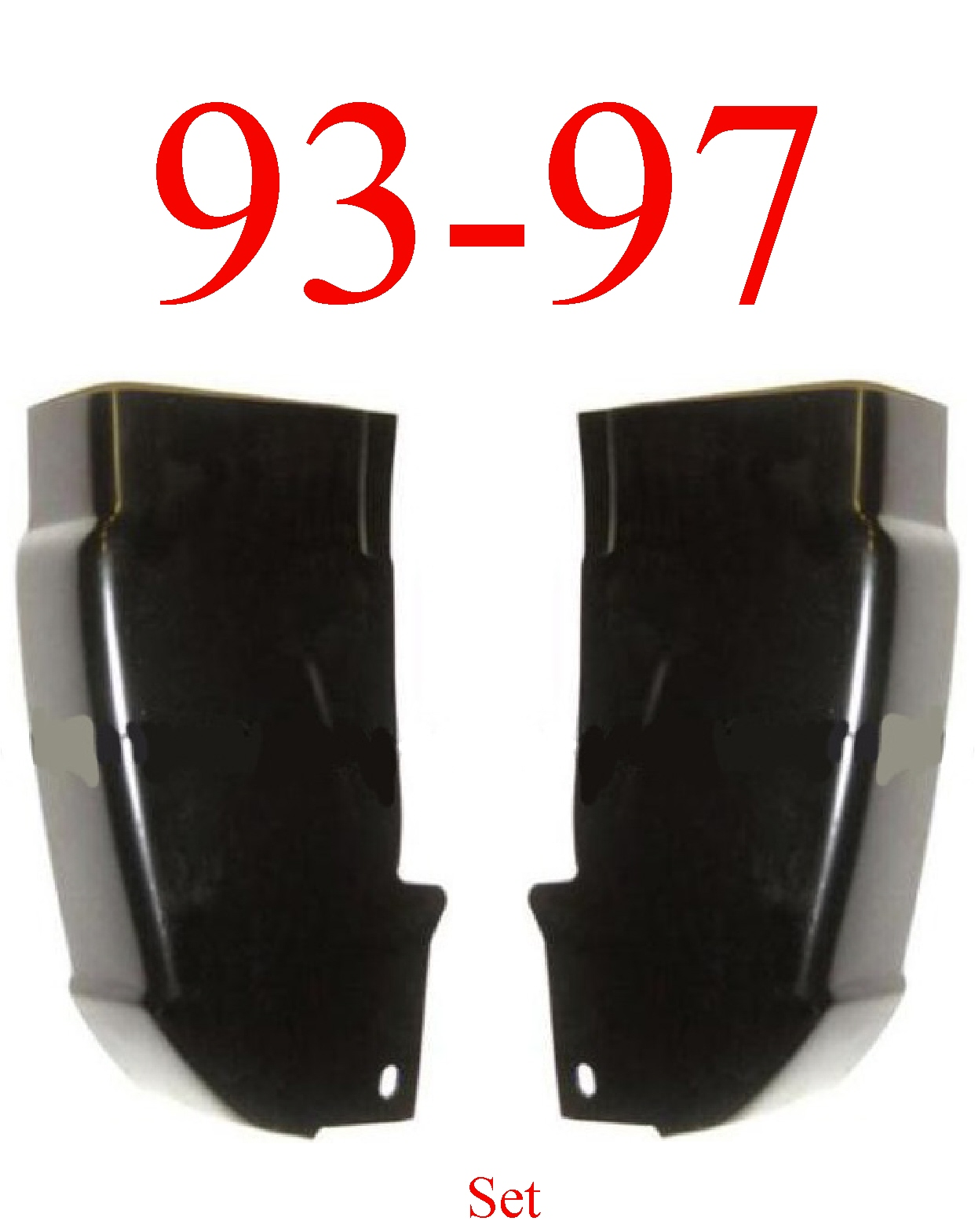 93-97 Ranger Regular Cab Corner Set