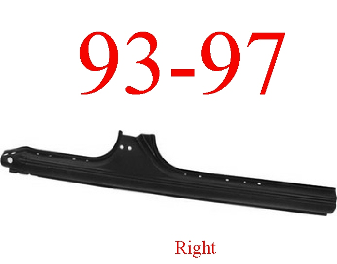 93-97 Toyota Corolla Right Extended Rocker
