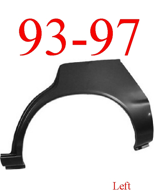 93-97 Toyota Corolla Wagon Left Upper Wheel Arch