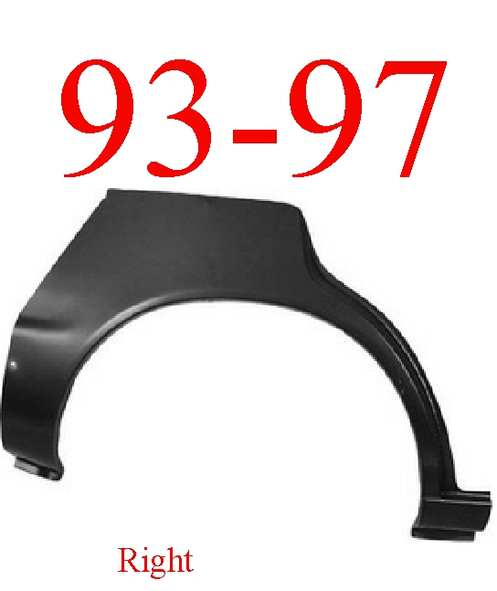 93-97 Toyota Corolla Wagon Right Upper Wheel Arch