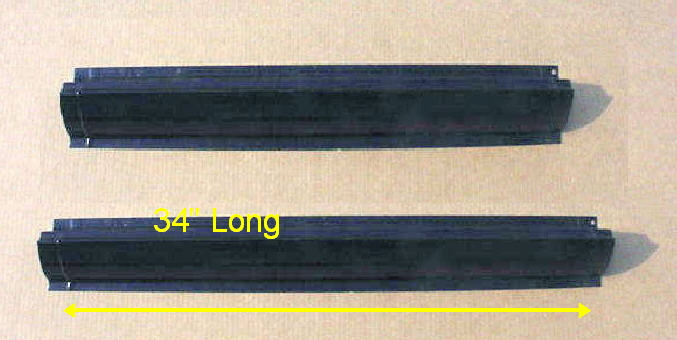 94-01 Dodge Ram Rocker Panel Set
