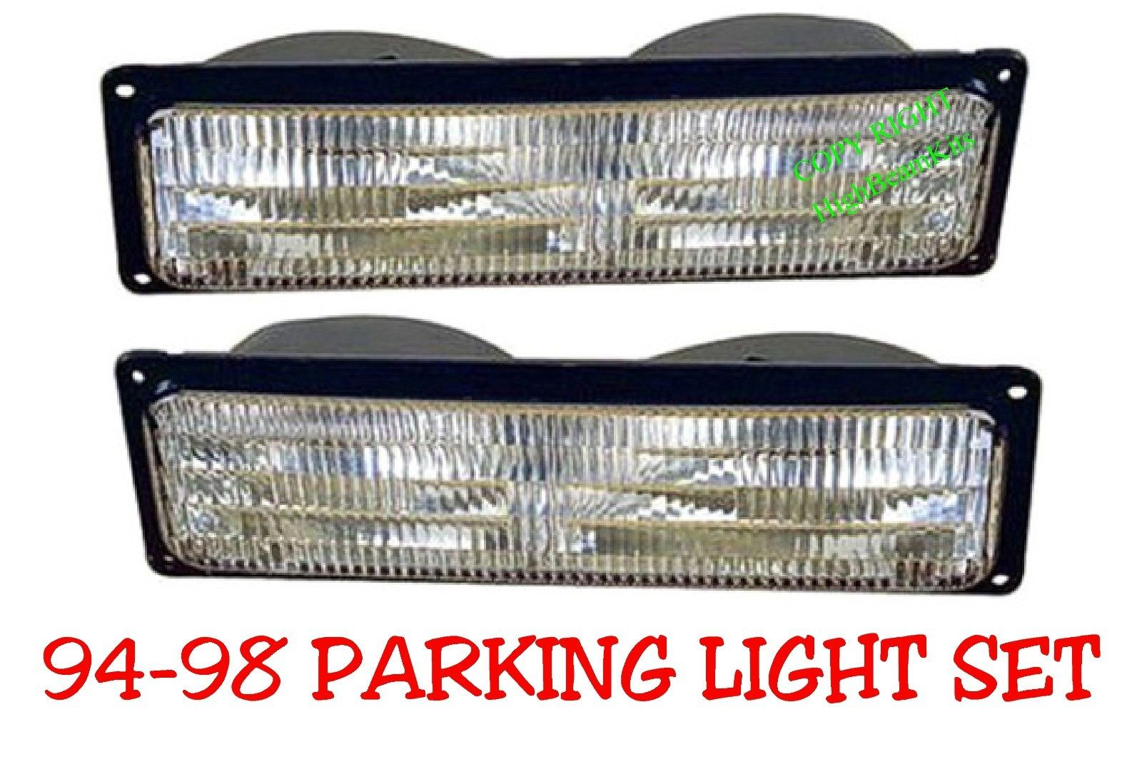 94-98 Chevy & GMC Parking Light Set