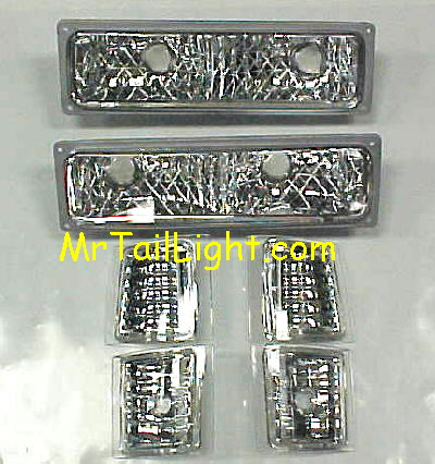 94-98 GMC Truck 6Pc Diamond Light Kit