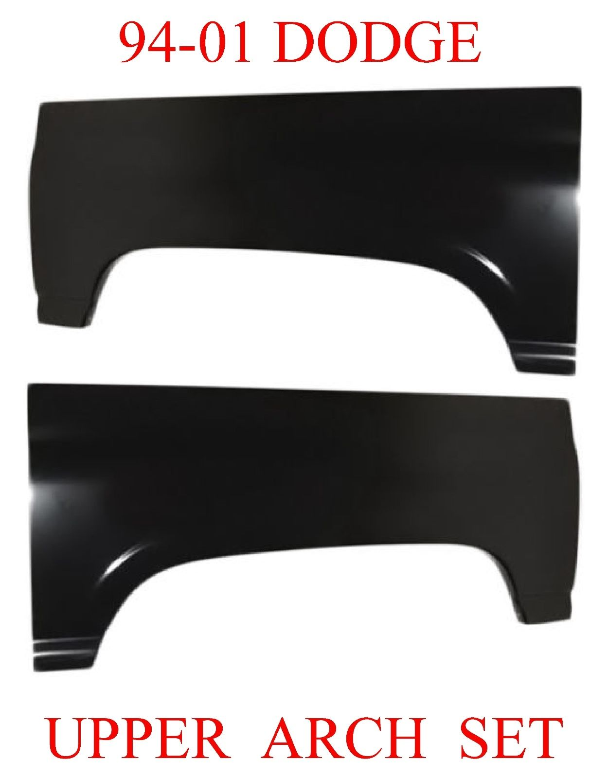 94-01 Dodge Ram Upper Arch Set