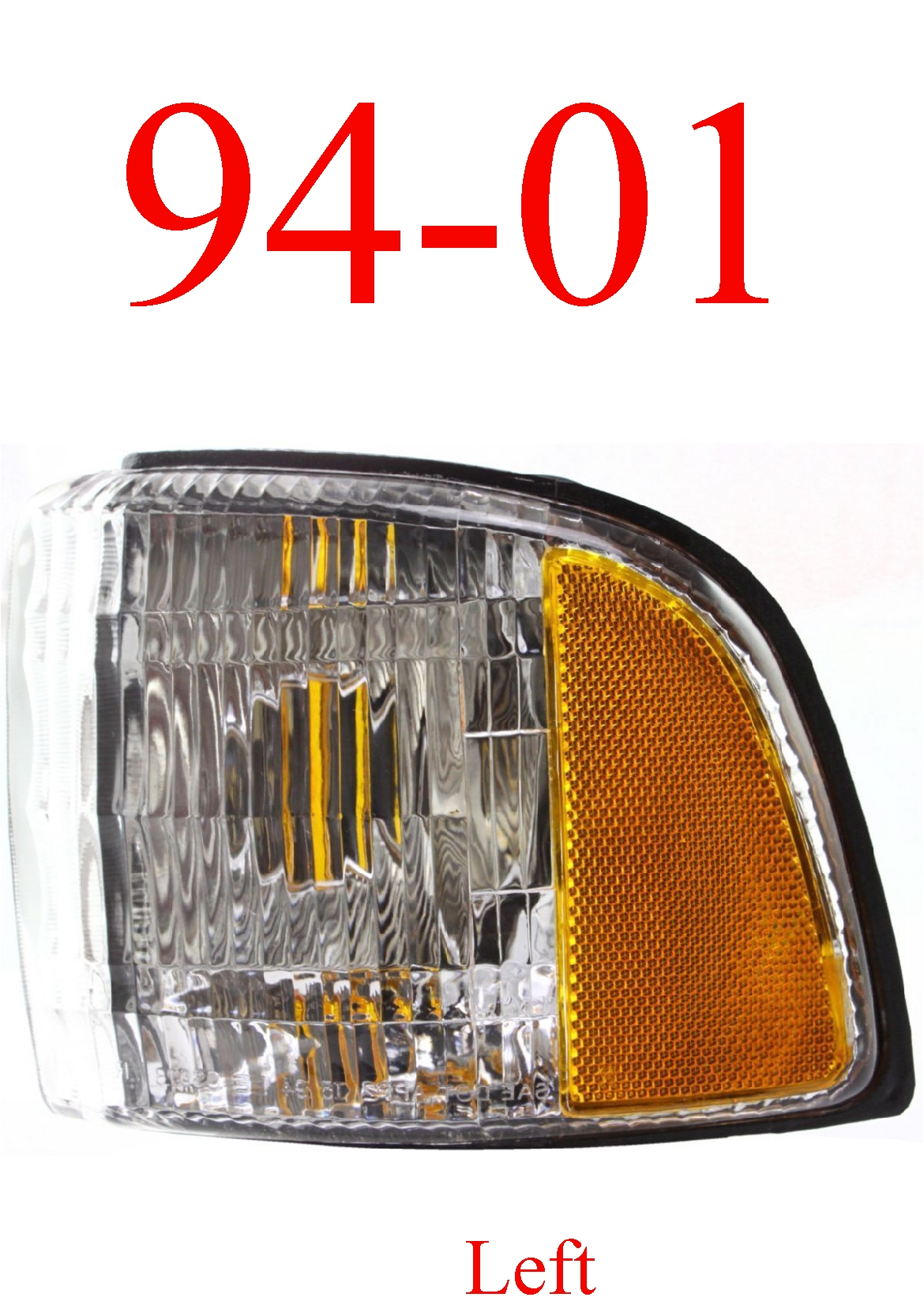 94-01 Dodge Ram Left Side Parking Light