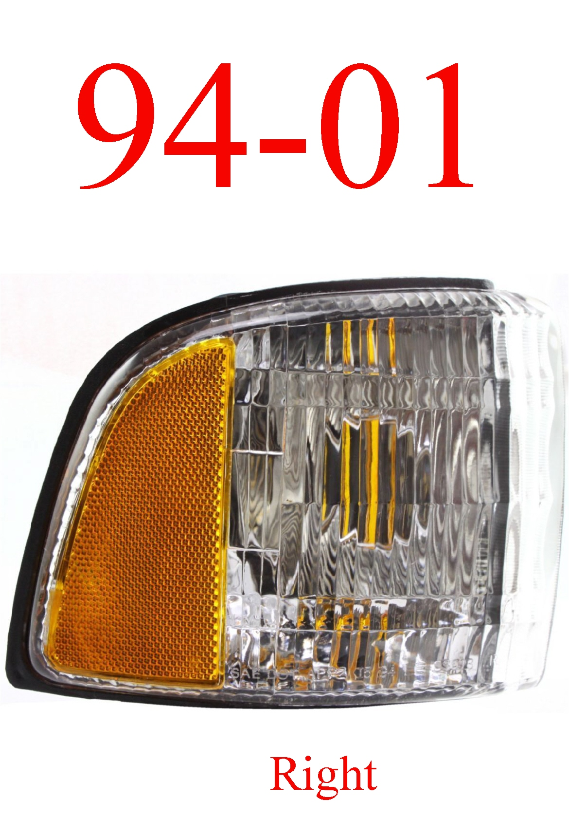 94-01 Dodge Ram Right Side Parking Light