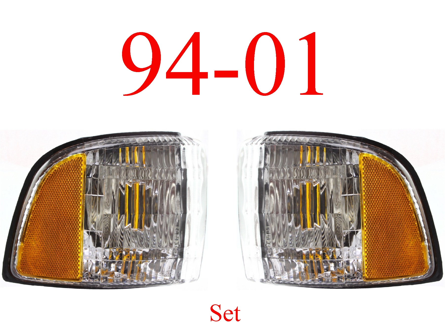 94-01 Dodge Ram Side Parking Light Set
