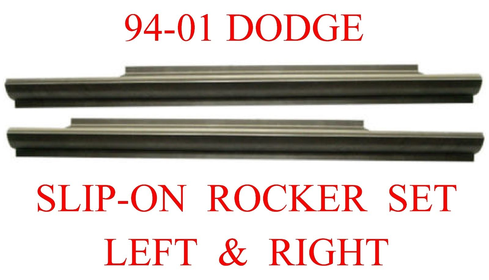 94-01 Dodge Ram Slip-On Rocker Panel Set