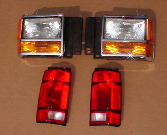 91-94 Ford Explorer 10Pc Head & Tail Light Kit
