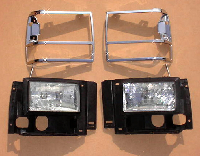 91-94 Ford Explorer 4Pc Head Light Kit