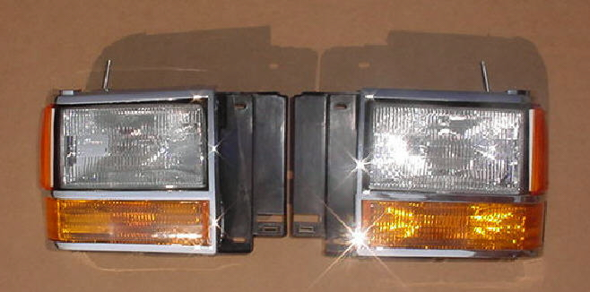 89-90 Ford Bronco II 8Pc Head Light Kit