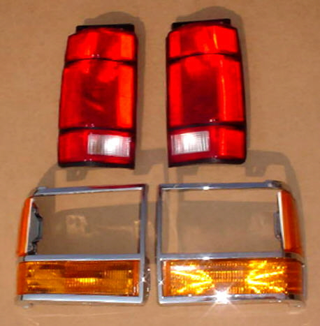 91-94 Ford Explorer 8Pc Tail & Parking Light Kit