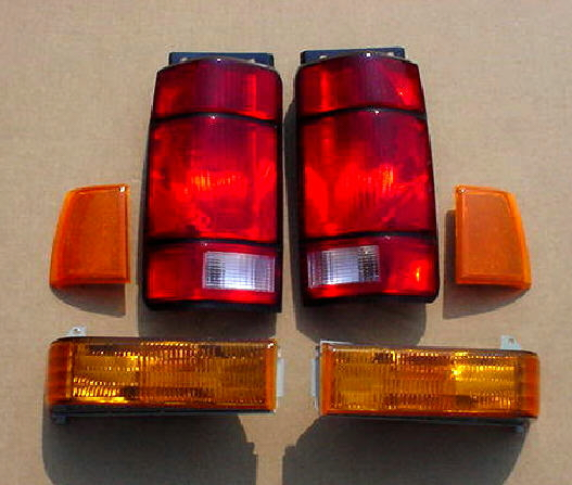 91-94 Ford Explorer 6Pc Tail & Parking Light Kit