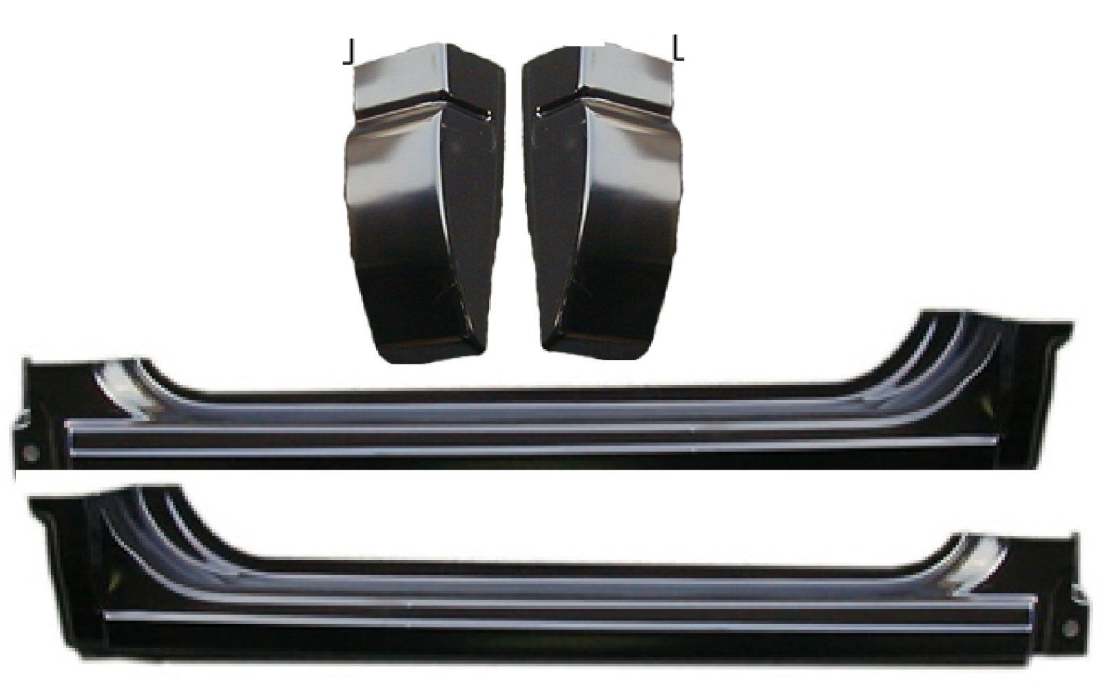 94-04 Chevy S10 4Pc Rocker & Cab Corner Kit