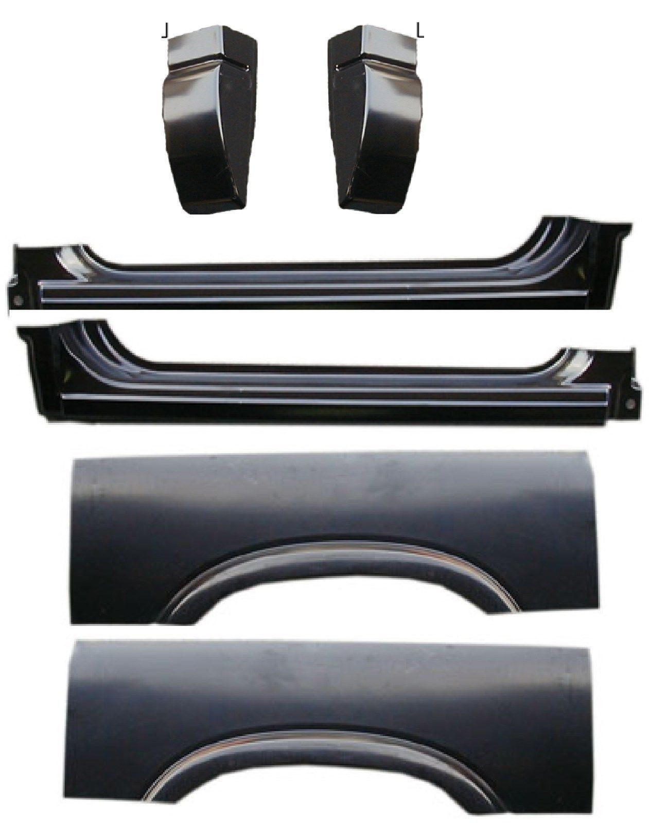94-04 Chevy S10 6Pc Cab & Arch Kit