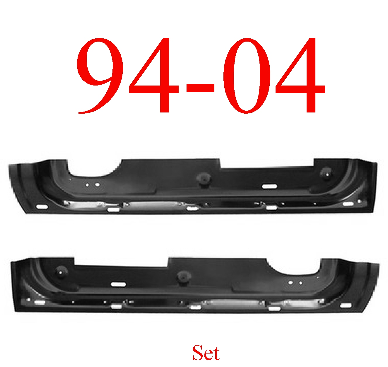 94-04 Chevy S10 Inner Door Bottom Set