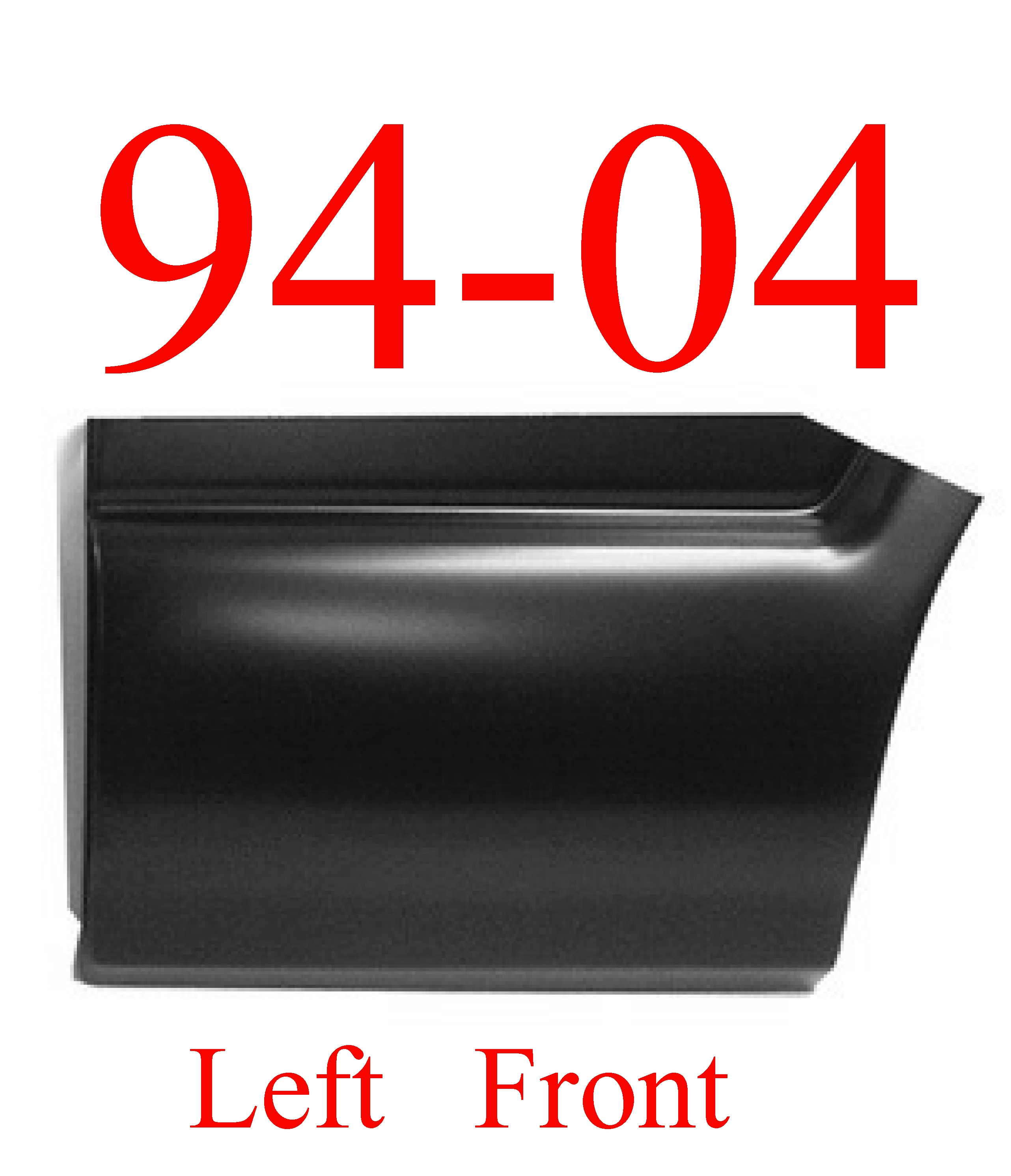 94-04 S10 LEFT Front Lower Bed Patch
