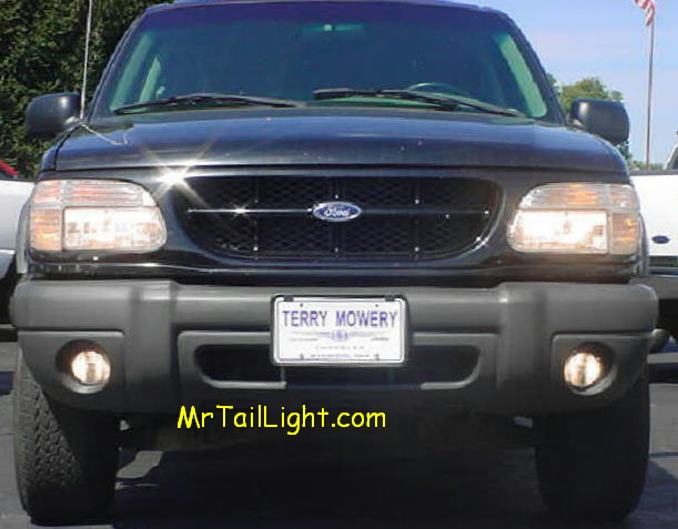 95 01 02 05 07 08 Ford Explorer High Beam Fog Light Kit