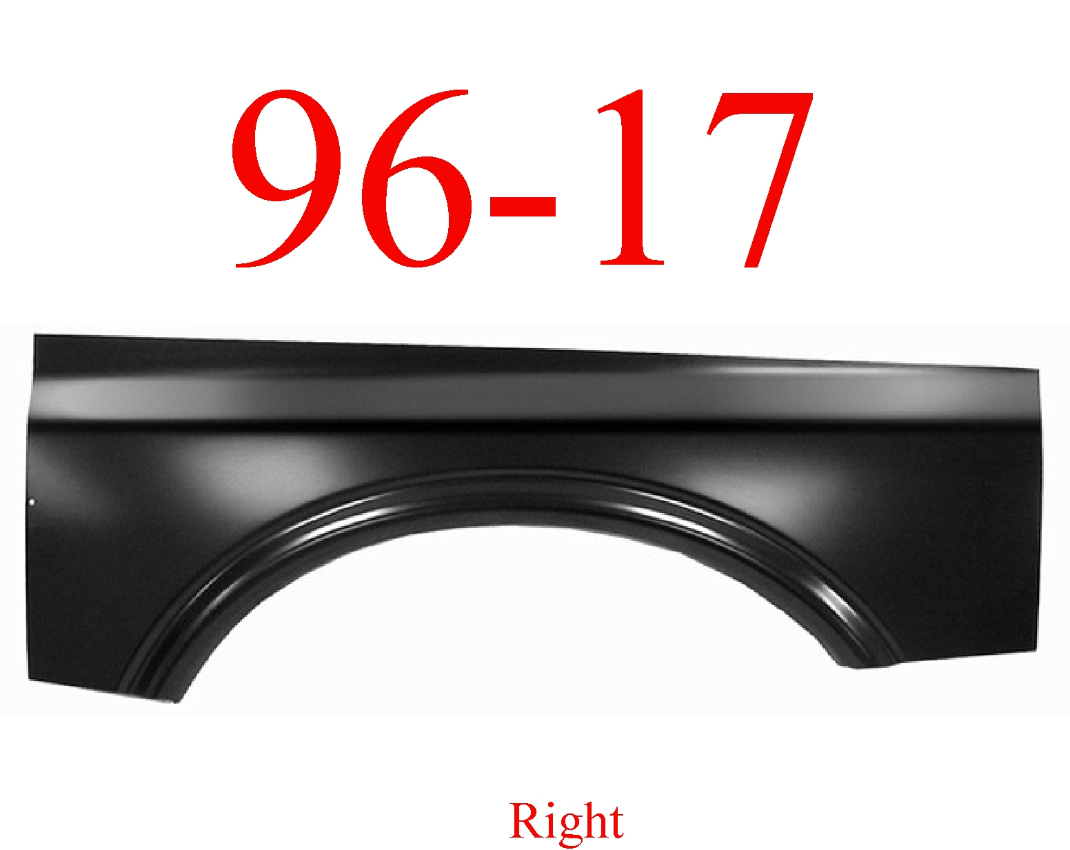 96-17 Chevy Express Right Upper Wheel Arch
