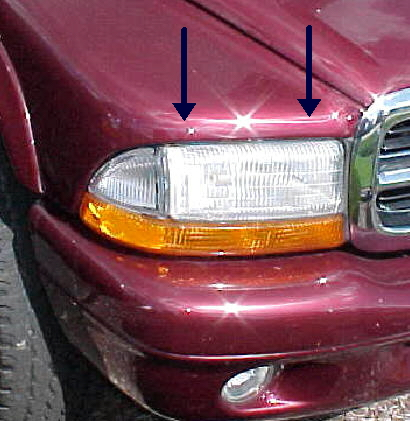 97-04 Dakota 98-03 Durango Right Head Light Assembly