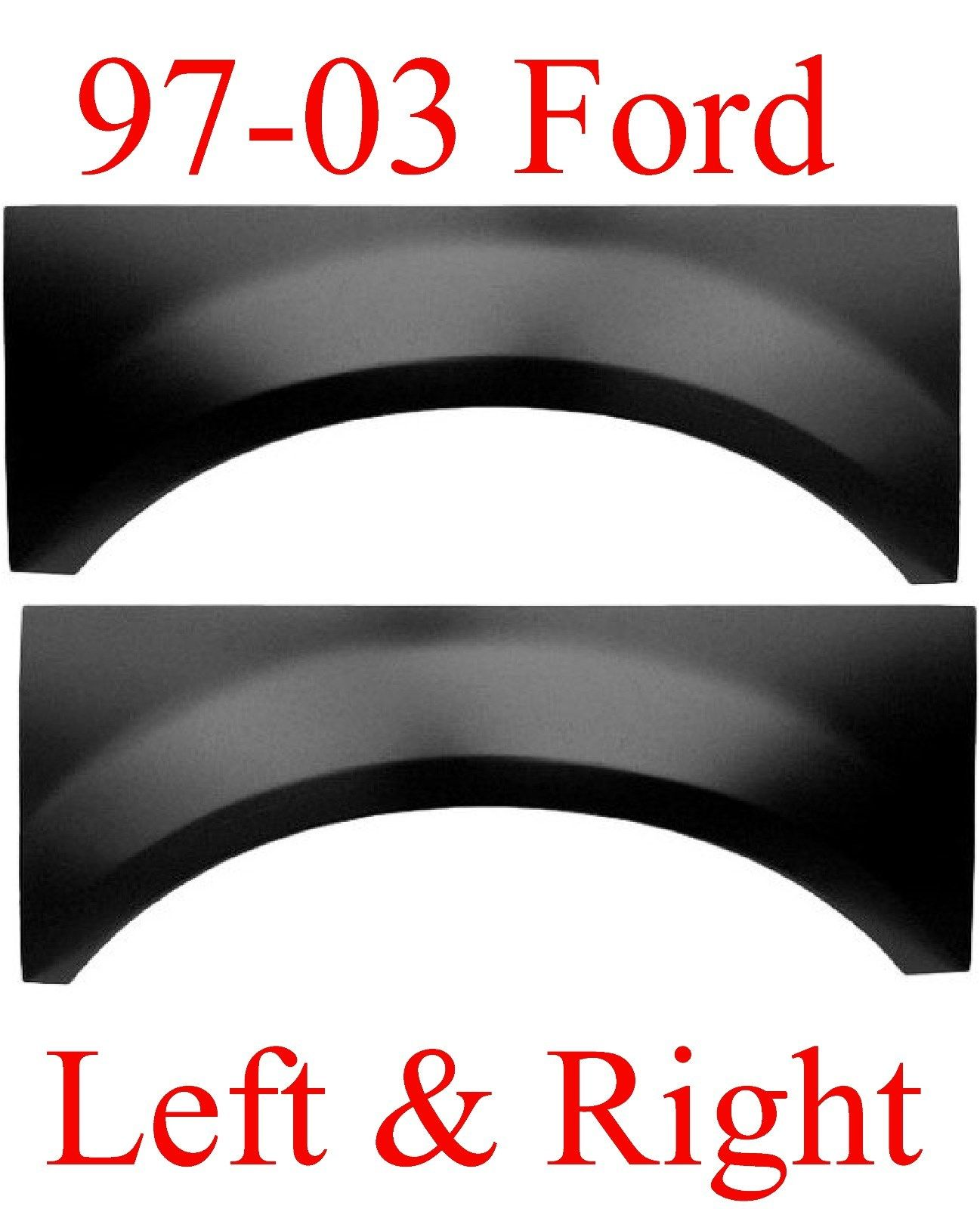 97-03 FORD F150 Upper Arch Set
