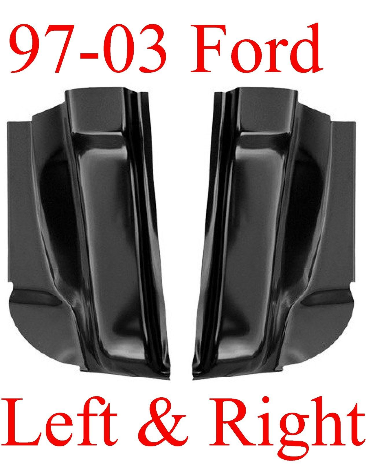 97-03 Ford F150 Regular Cab Corner Set