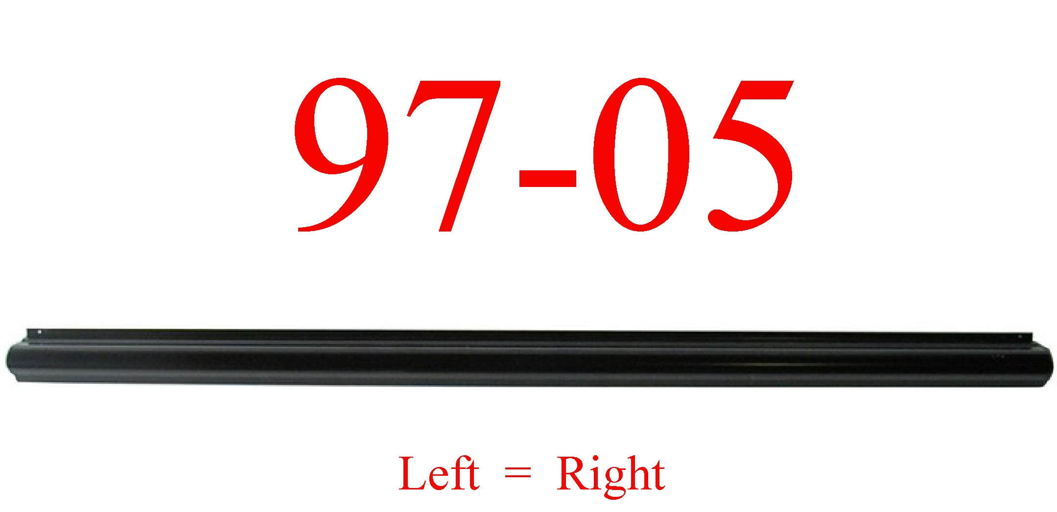 97-05 Chevy Venture Left Or Right Rocker Bottom Panel