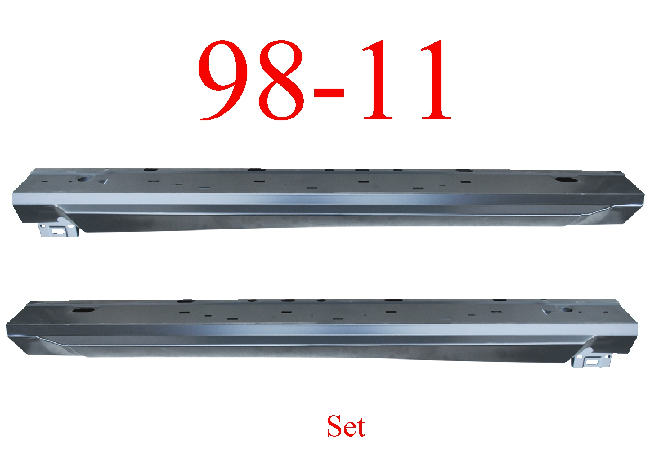 98-11 Ranger Regular Cab Extended Rocker Panel Set