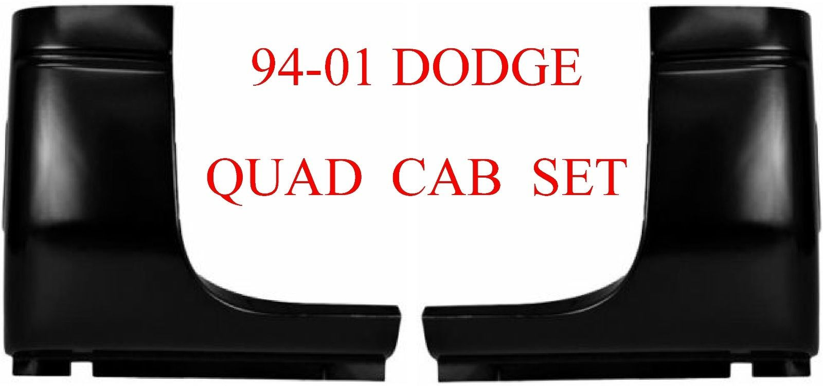 98-01 Dodge Ram Quad Cab Corner Set