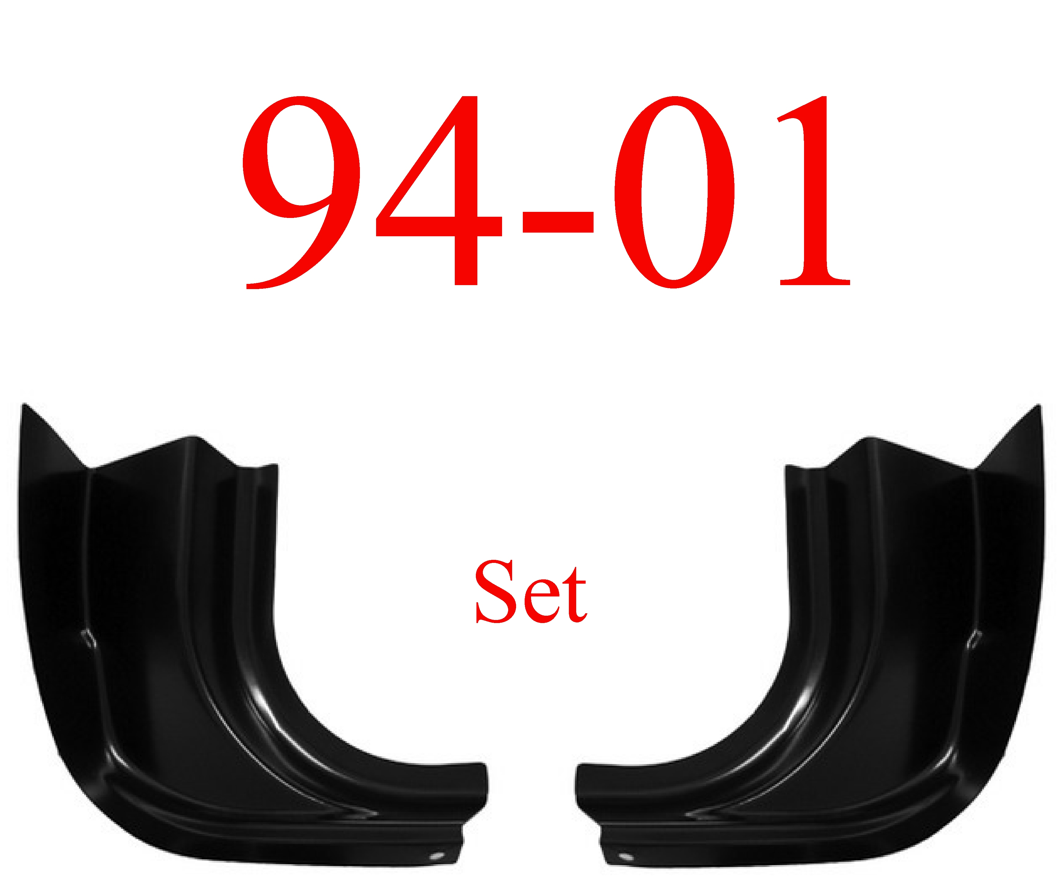 98-01 Dodge Inner Quad Cab Corner SET