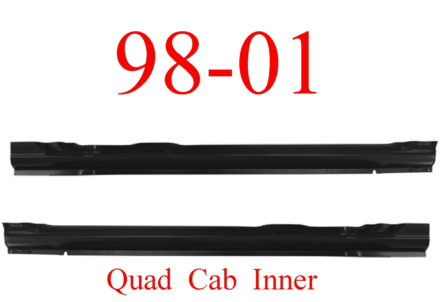 98-01 Dodge Quad Cab Inner Rocker Set
