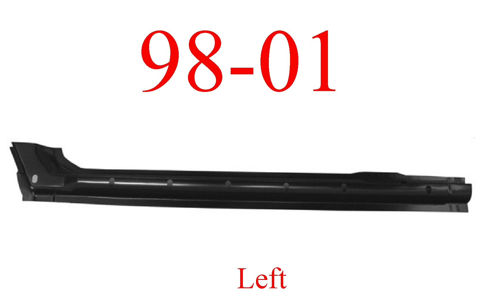 98 01 Dodge Left Quad Cab Extended Rocker Panel