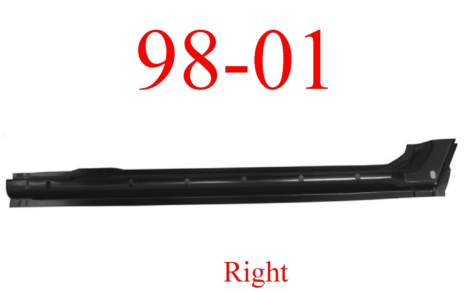 98-01 Dodge Right Quad Cab Extended Rocker Panel