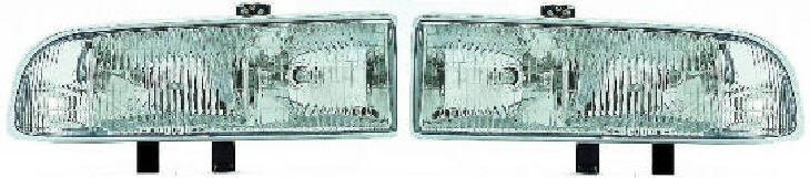 98-04 Chevy S10 Blazer Head Light Set