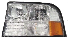 98-04 GMC S15 Left Head Light W-O Fog