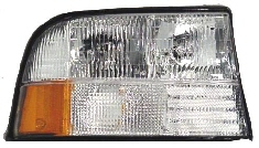 98-04 GMC S15 Right Head Light W-O Fog
