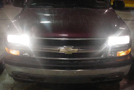 01-06 Chevy GMC Tahoe Yukon Denali High Beam Conversion Kit