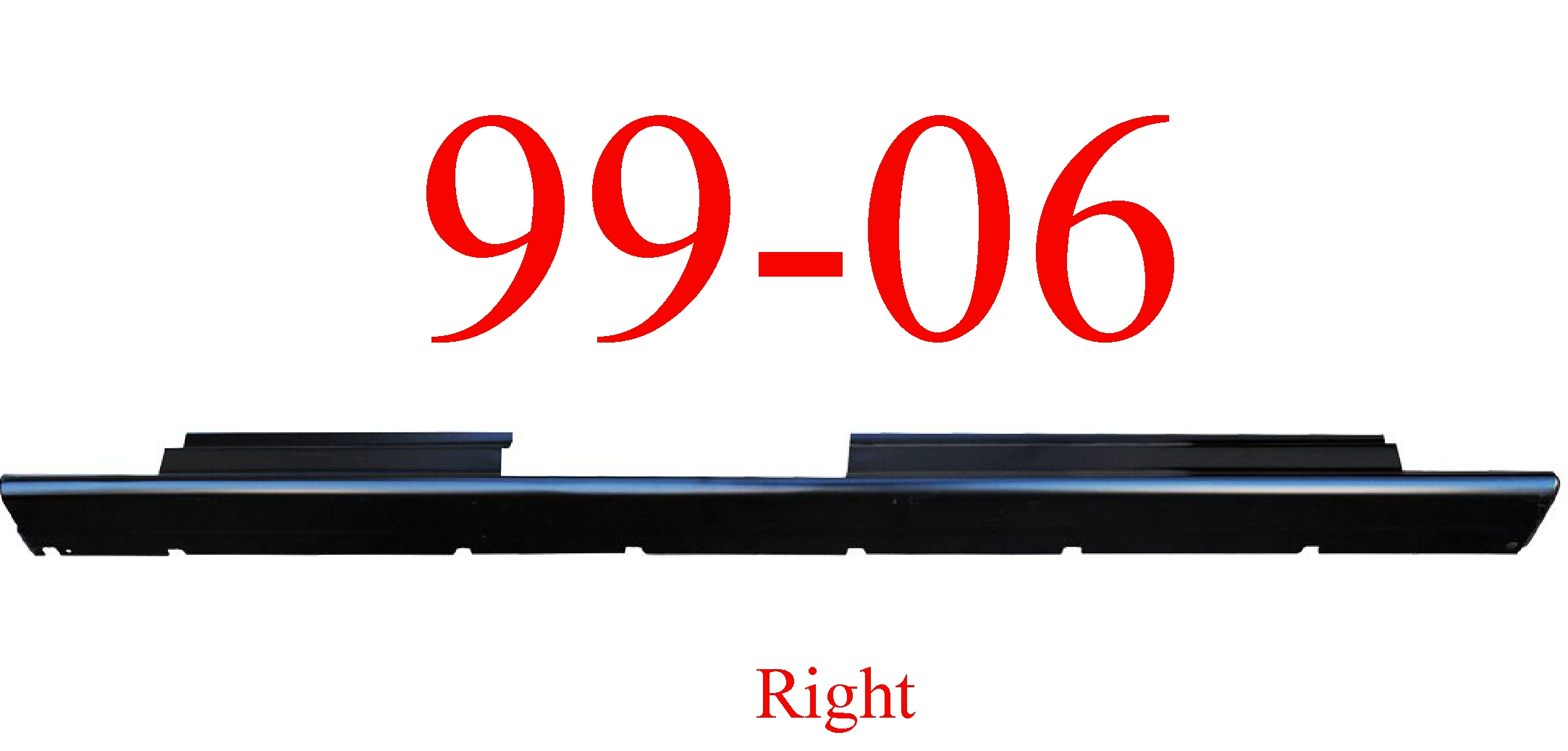 99-06 Chevy Crew Cab Right Slip-On Rocker Panel 1.4MM