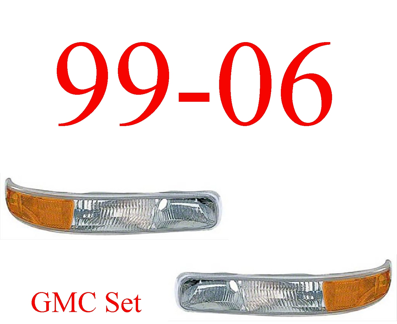 99-06 GMC Truck Park Light Set