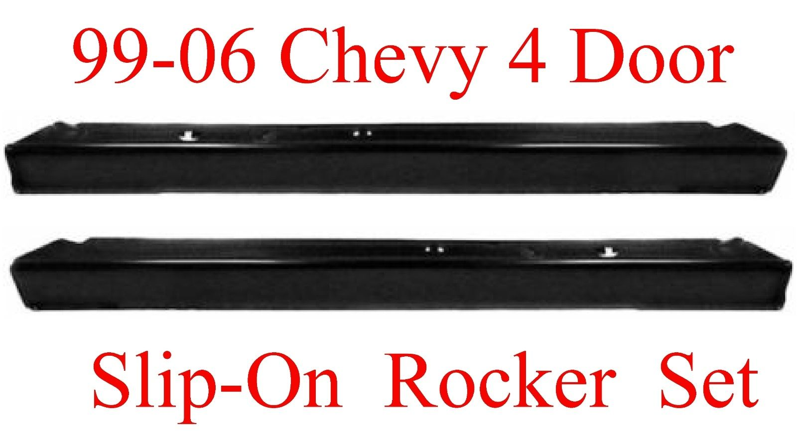 99-06 Chevy GMC Slip-On Rocker Set For Extended Cab