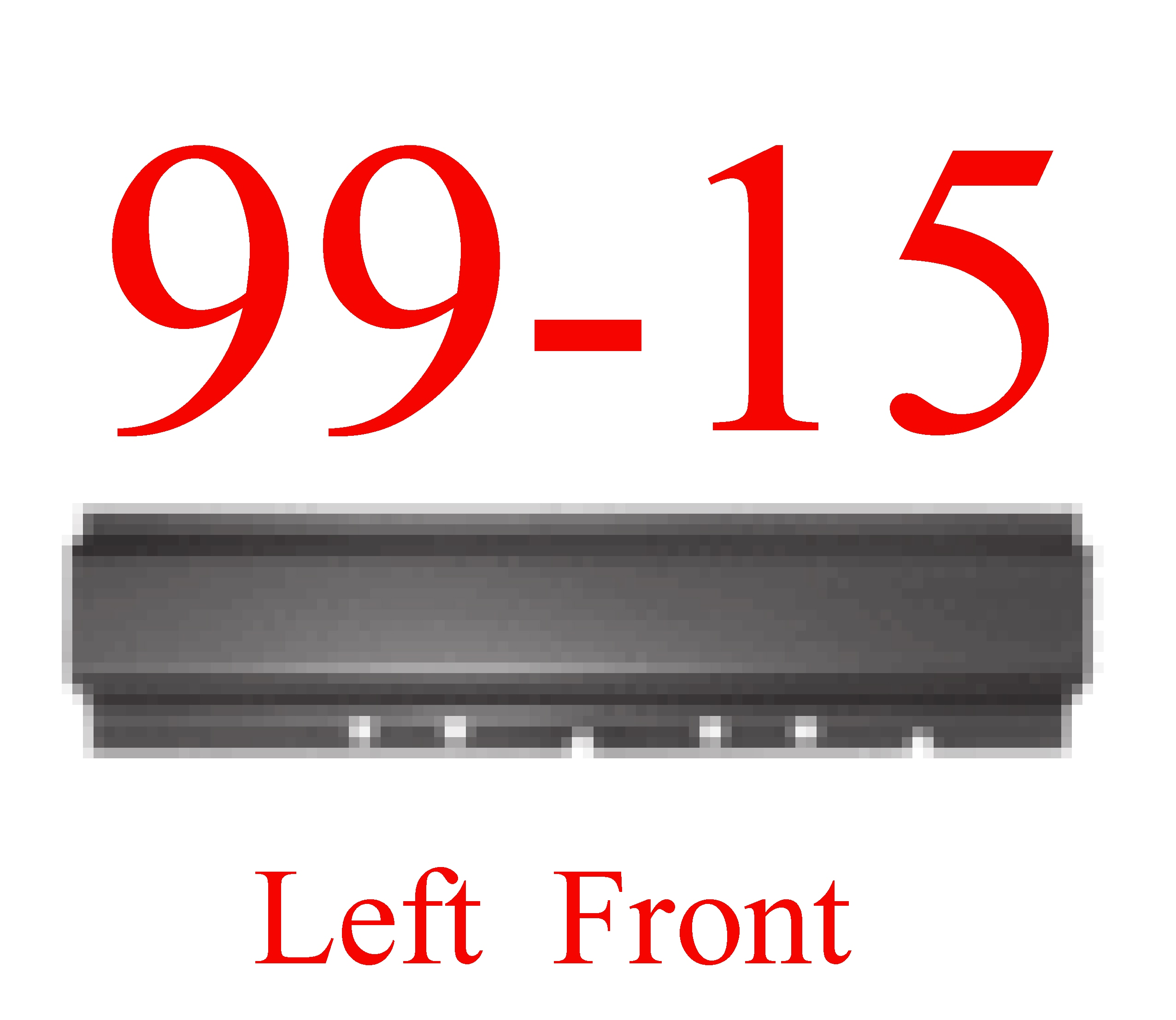 99-14 Super Duty Crew Cab Left Front Rocker Panel