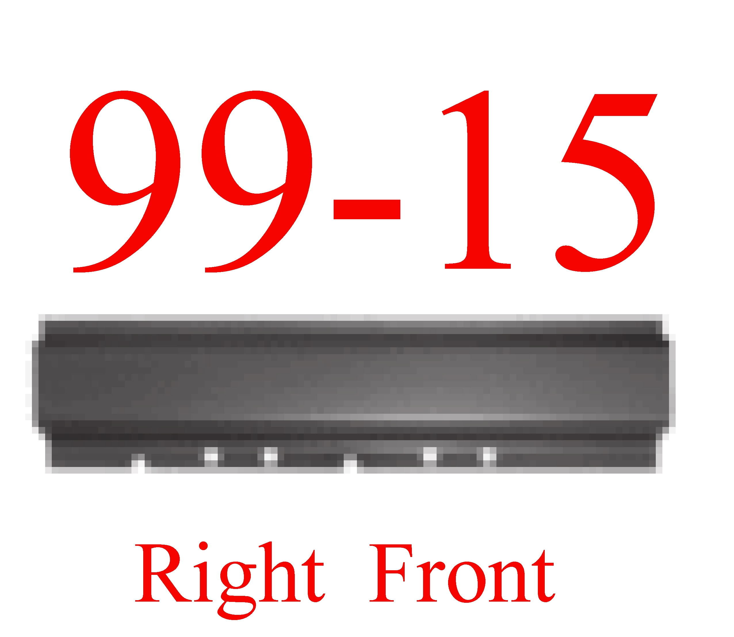 99-14 Super Duty Crew Cab Right Front Rocker Panel