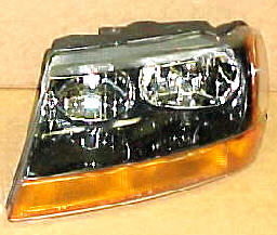 99-04 Jeep Grand Cherokee Laredo Left Head Light Assembly