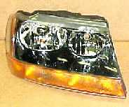 99-04 Jeep Grand Cherokee Laredo Right Head Light Assembly